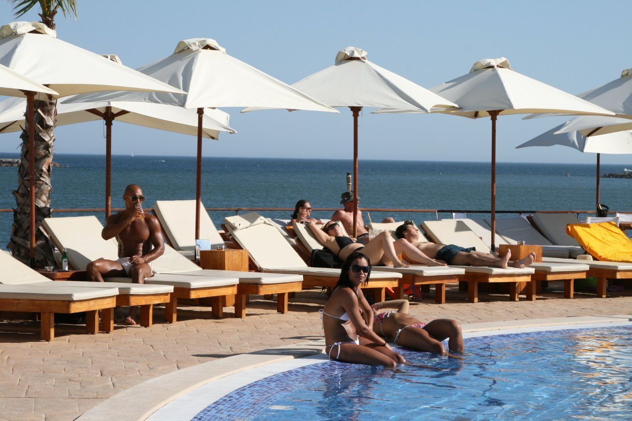 Nikki Beach - exclusive beachclub in Portimao in Portugal