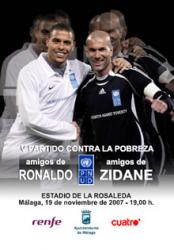 Ronaldo and Zidane get teams together for big charity game