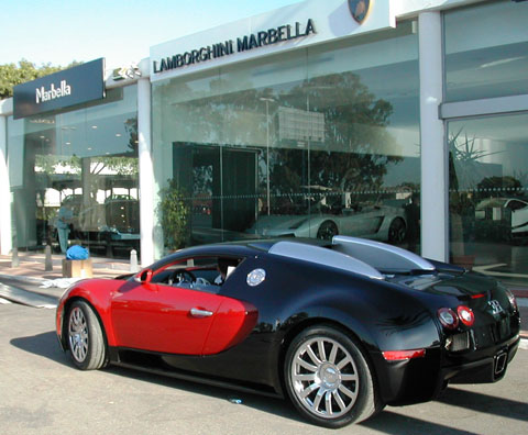 bugatti veyron sold in marbella costa del sol news. Black Bedroom Furniture Sets. Home Design Ideas