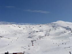 Sierra Nevada ski resort