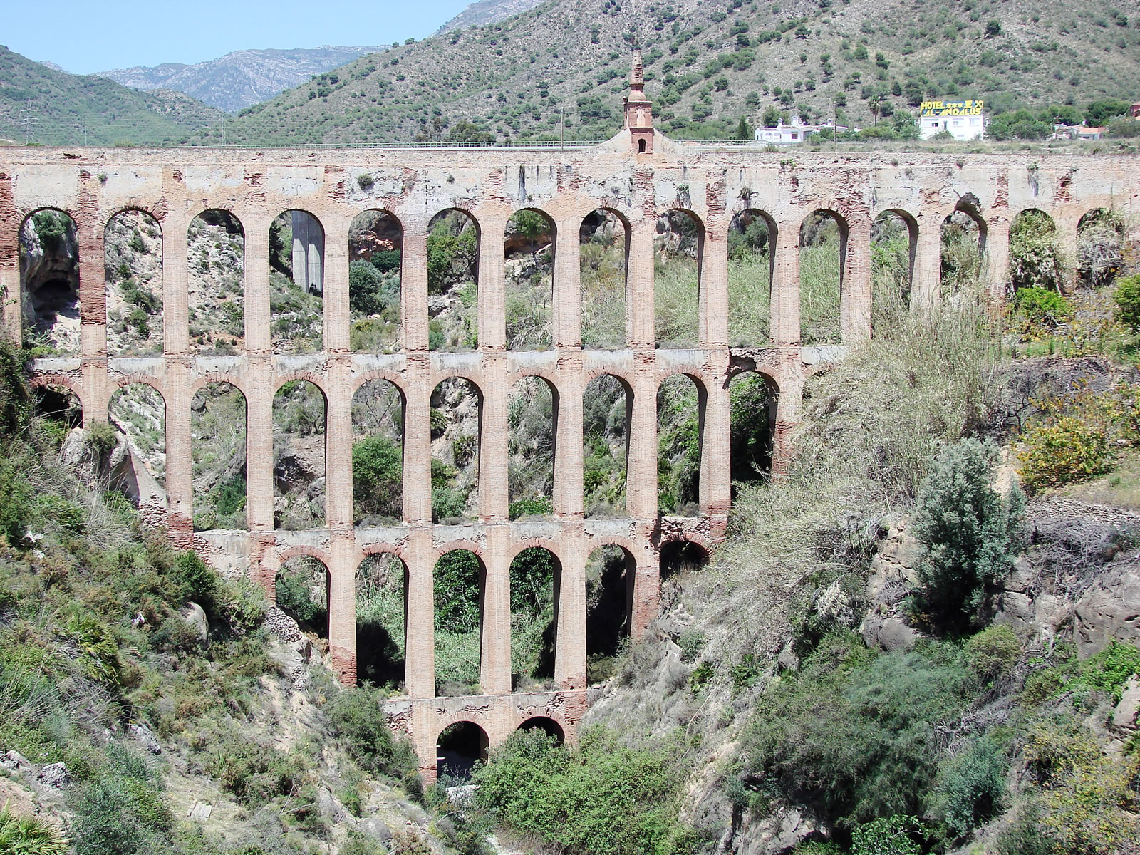Aqueduct Of Nerja To Be Restored Costa Del Sol News