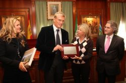 Dolph Lundgren is Ambassador of Marbella