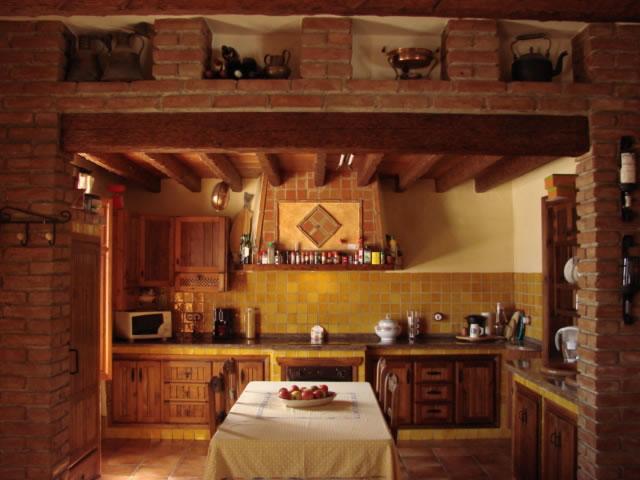 Villa Canta Ranas kitchen
