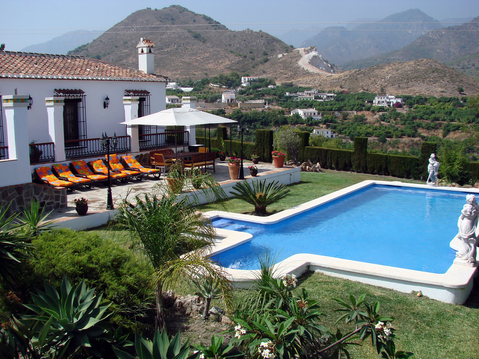Villa Canta Ranas view