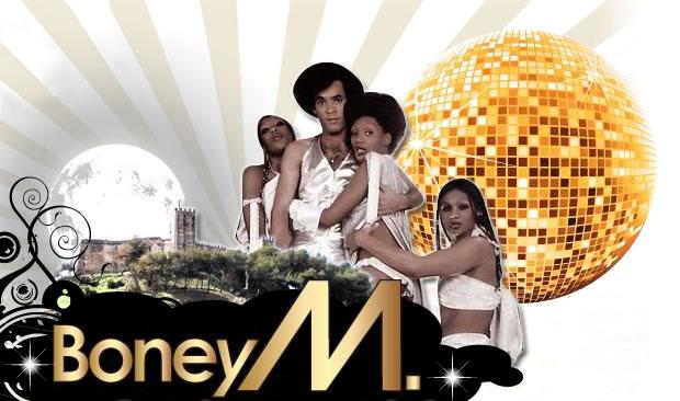 Boney M in concert in Fuengirolat