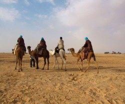Crossing the Sahara 2010 with Costa Singles