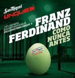 Franz Ferdinand live in Spain.. Secretly!