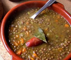 Spanish Lentils Recipe (Lentejas)