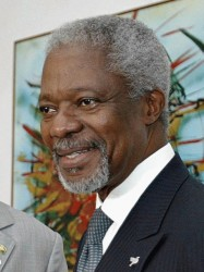 Kofi Annan at III World Congress on Climate Change & Wine in Marbella