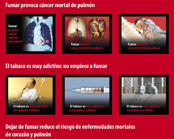 Spain resorts to visual aid to deter smokers