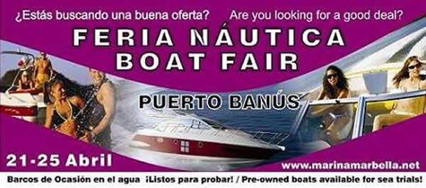 Pre-Owned Boat Fair in Puerto Banús