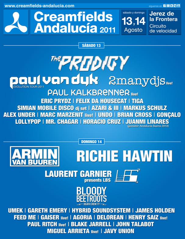Creamfields Andalucia 2011