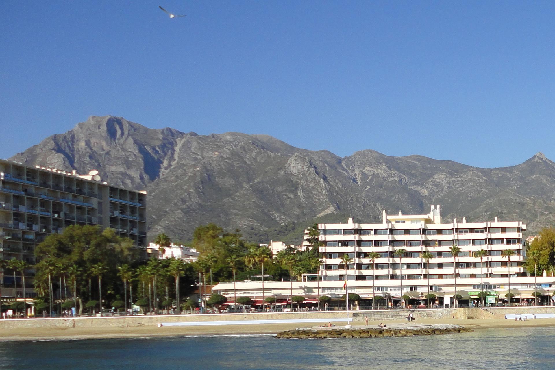 Costa del Sol favourite British tourist destination in Spain