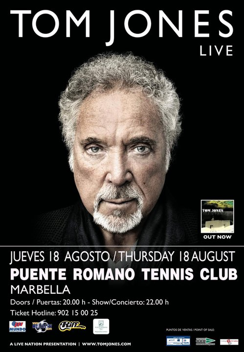 Tom Jones in Concert in Marbella