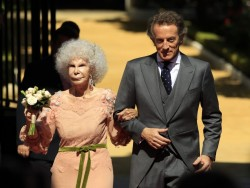Spanish Royal Wedding: 85-Year-Old Duquesa de Alba Gets Married