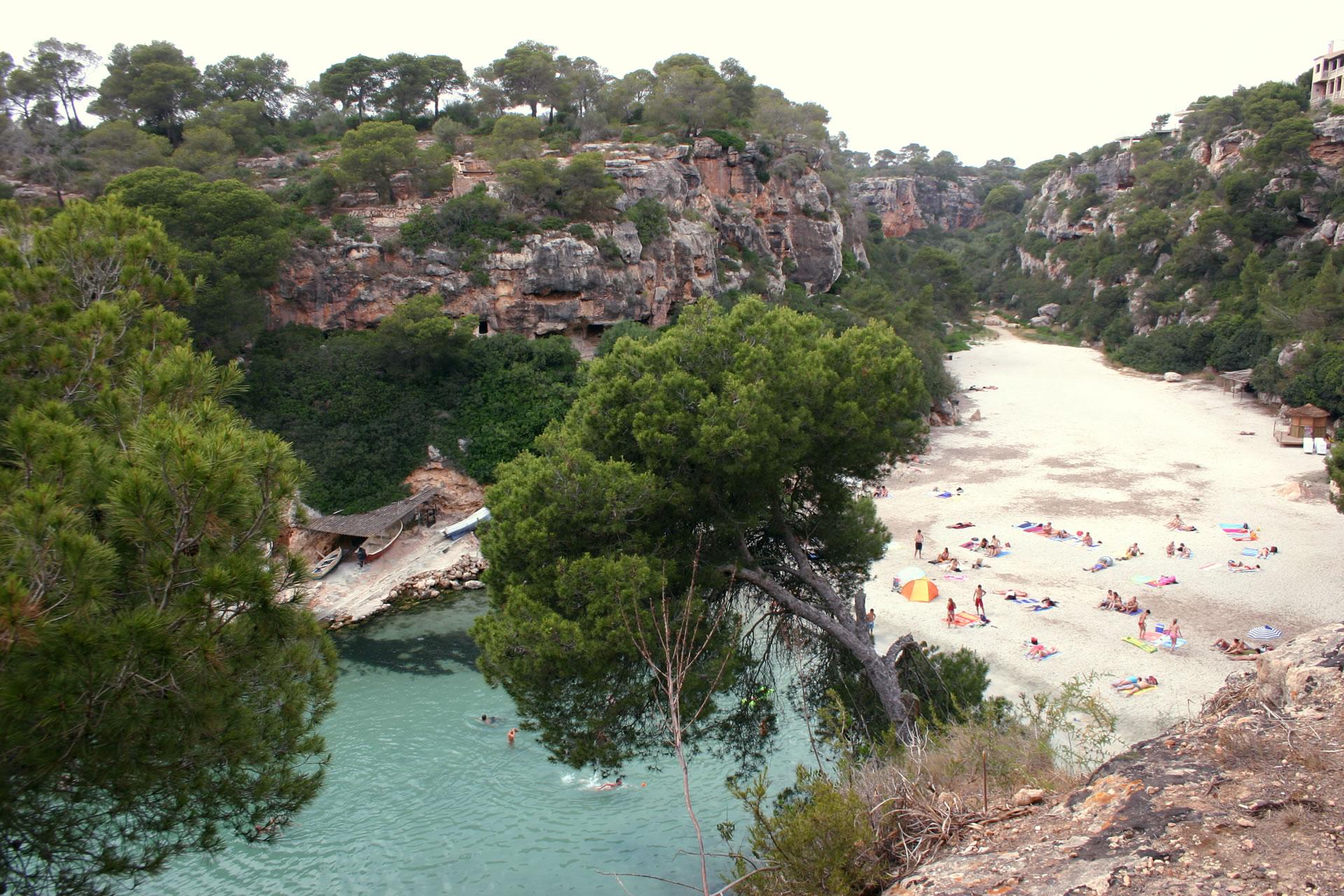 on holidays to Majorca