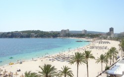 popular resort destination of Magaluf - (by Hullemuc)