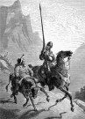 Don Quixote de la Mancha and Sancho Panza, 1863, by Gustave Doré