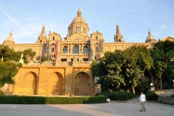The National Museum of Art of Catalonia in Barcelona