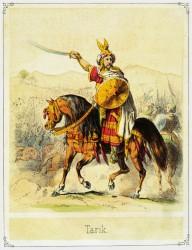 Tariq ibn Ziyad, an Islamic Berber