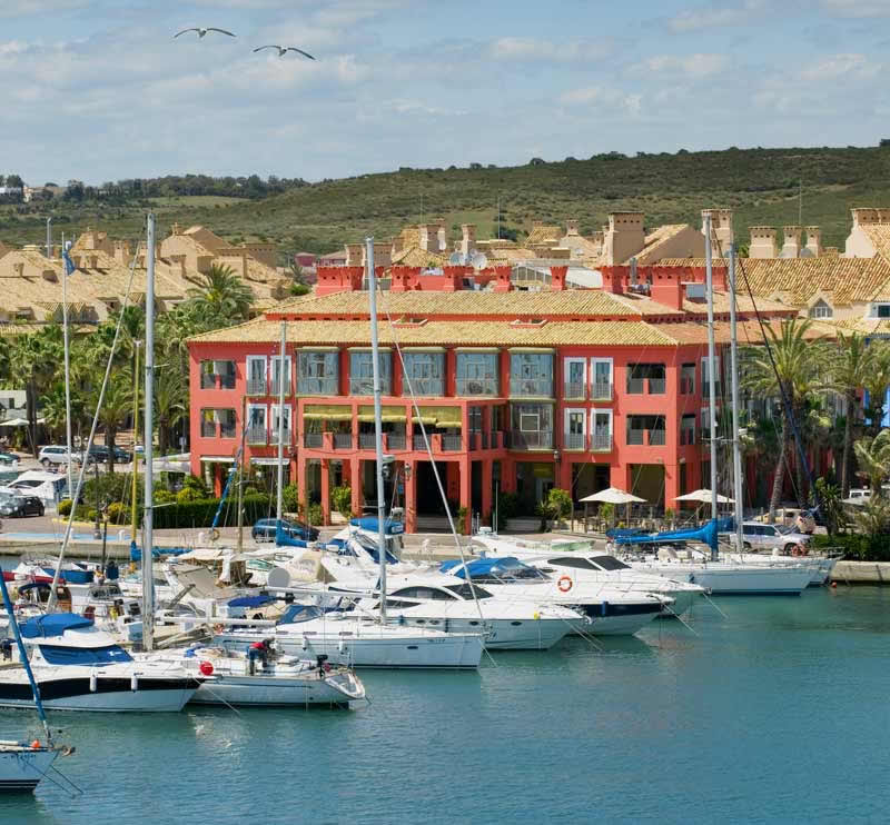 five different resorts in Andalusia