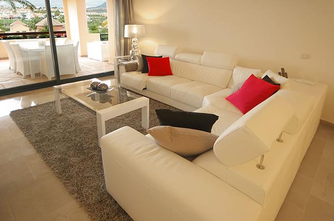 White Furniture On The Costa Del Sol