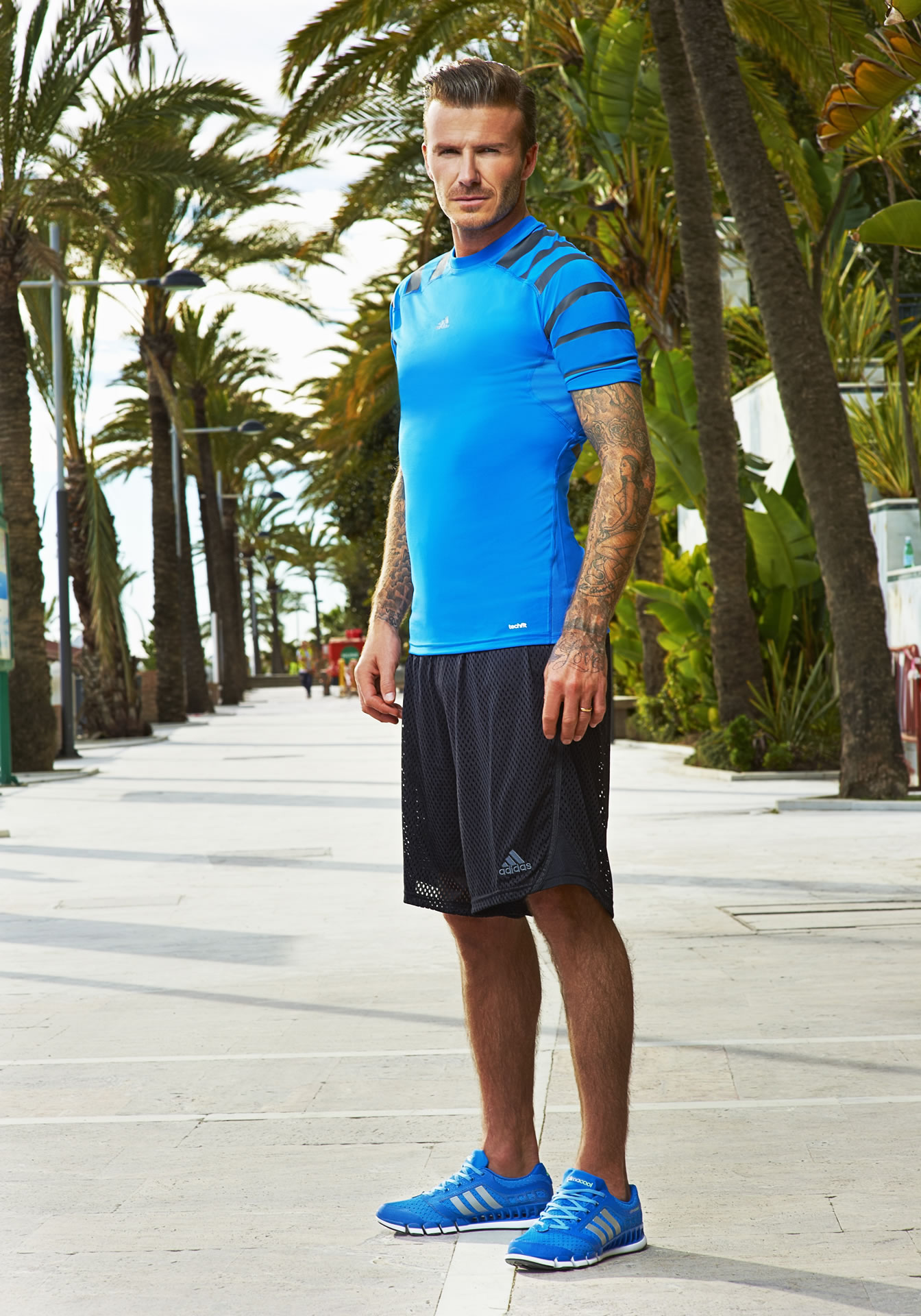 lobo dentro Todo el tiempo  David Beckham in adidas climacool TV Ad in Marbella - Costa del Sol News