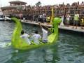 Gibraltar's Cardboard Boat Race 2009 Adult winners Handbuilt Joinery
