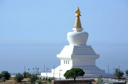 The Buddhist Temple (Stupa) in Benalmadena