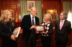 Dolph Lundgren is Ambassador of Marbella