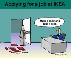 Ikea in Malaga as a big employer