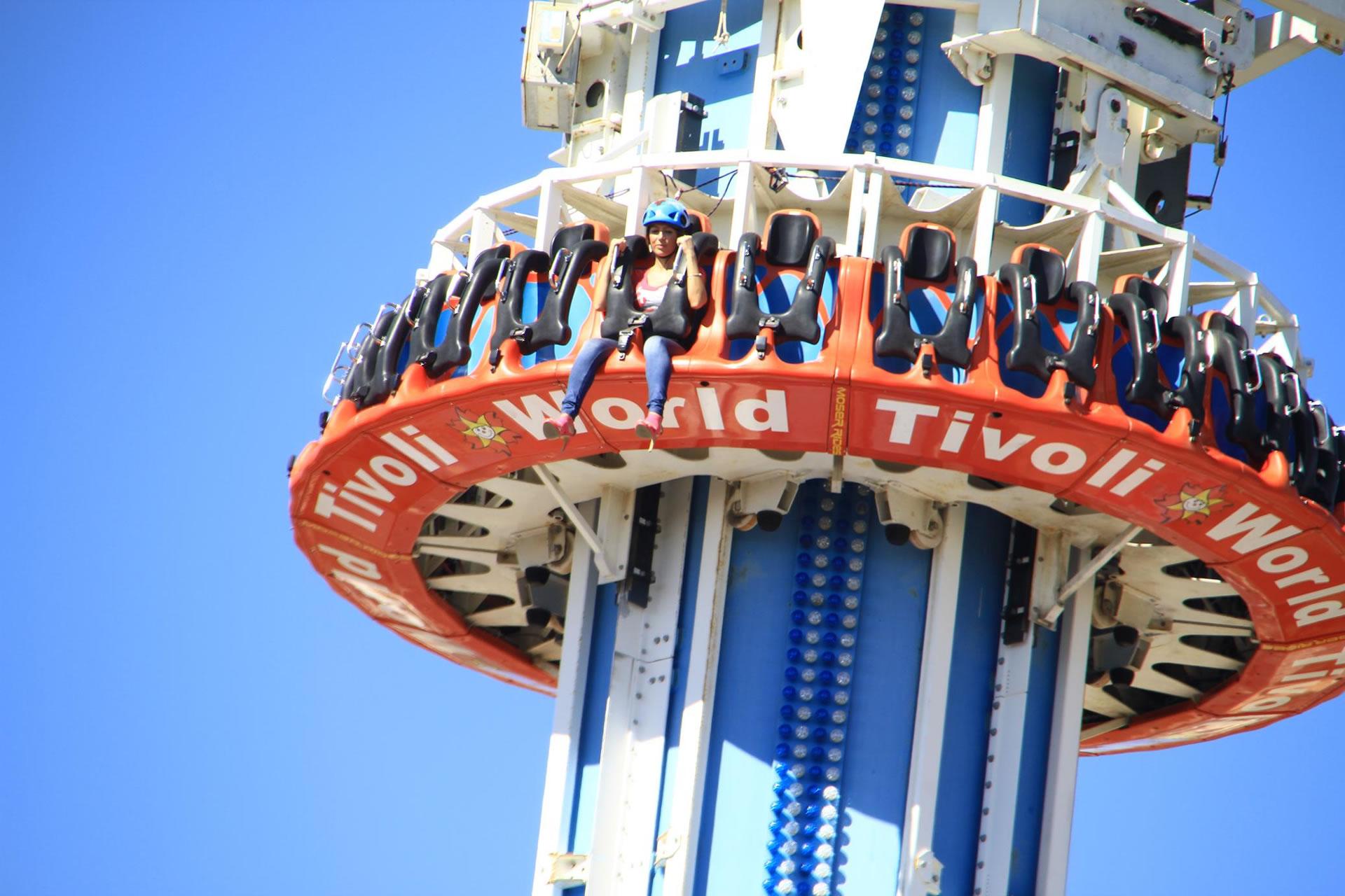 Tivoli World amusement park in Benalmadena