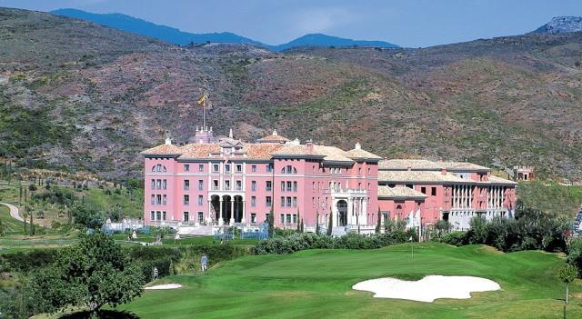Five star luxury hotel resort Villa Padierna
