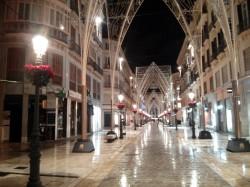 Christmas in Malaga City