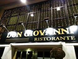 Don Giovanni Marbella is the new restaurant of famous Italian chef Andrea Tumbarello in the center of Marbella.