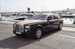 Marbella is still the place to enjoy all luxury - Rolls Royce Phantom