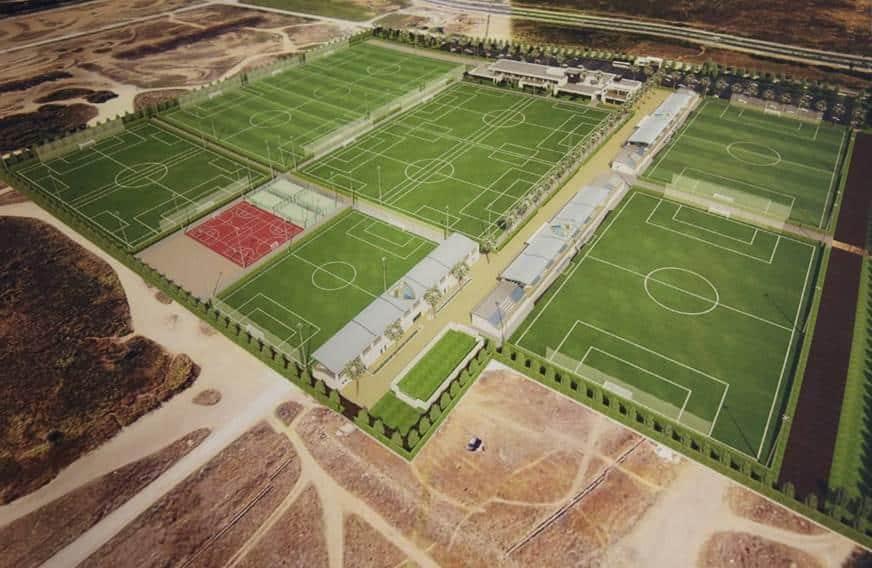 Malaga Football Club to start new facilities for their football school