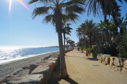 Marbella counts with 17km of connected coastline