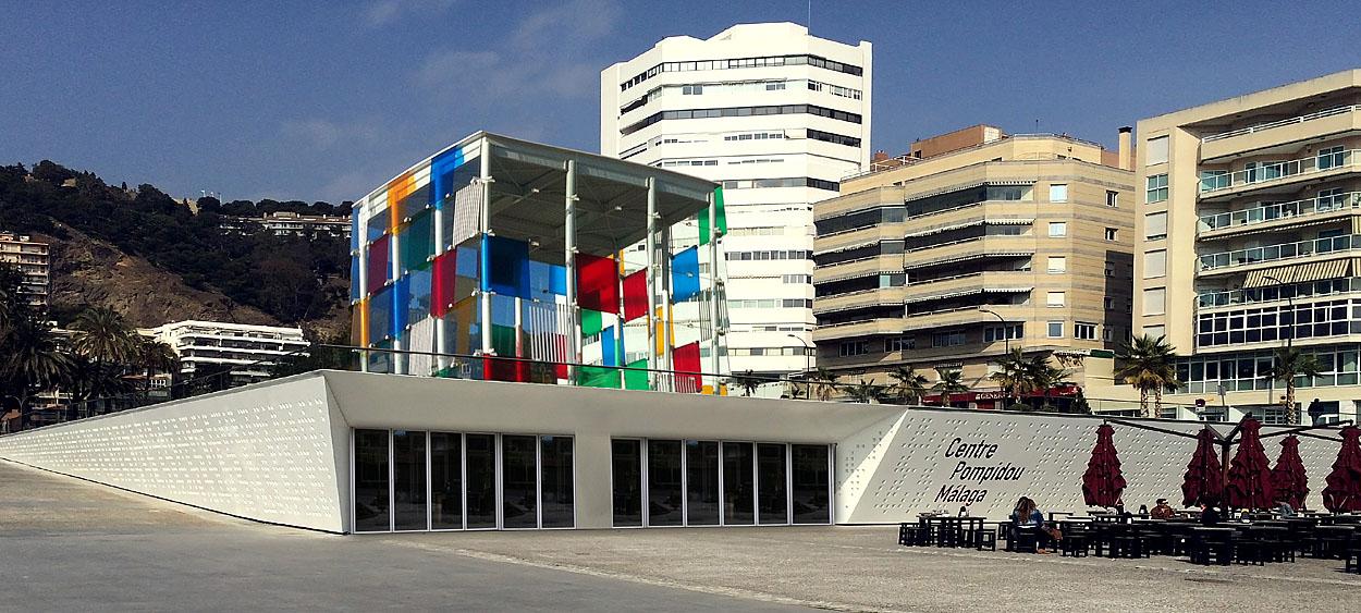 Pompidou Centre in Muelle Uno Malaga