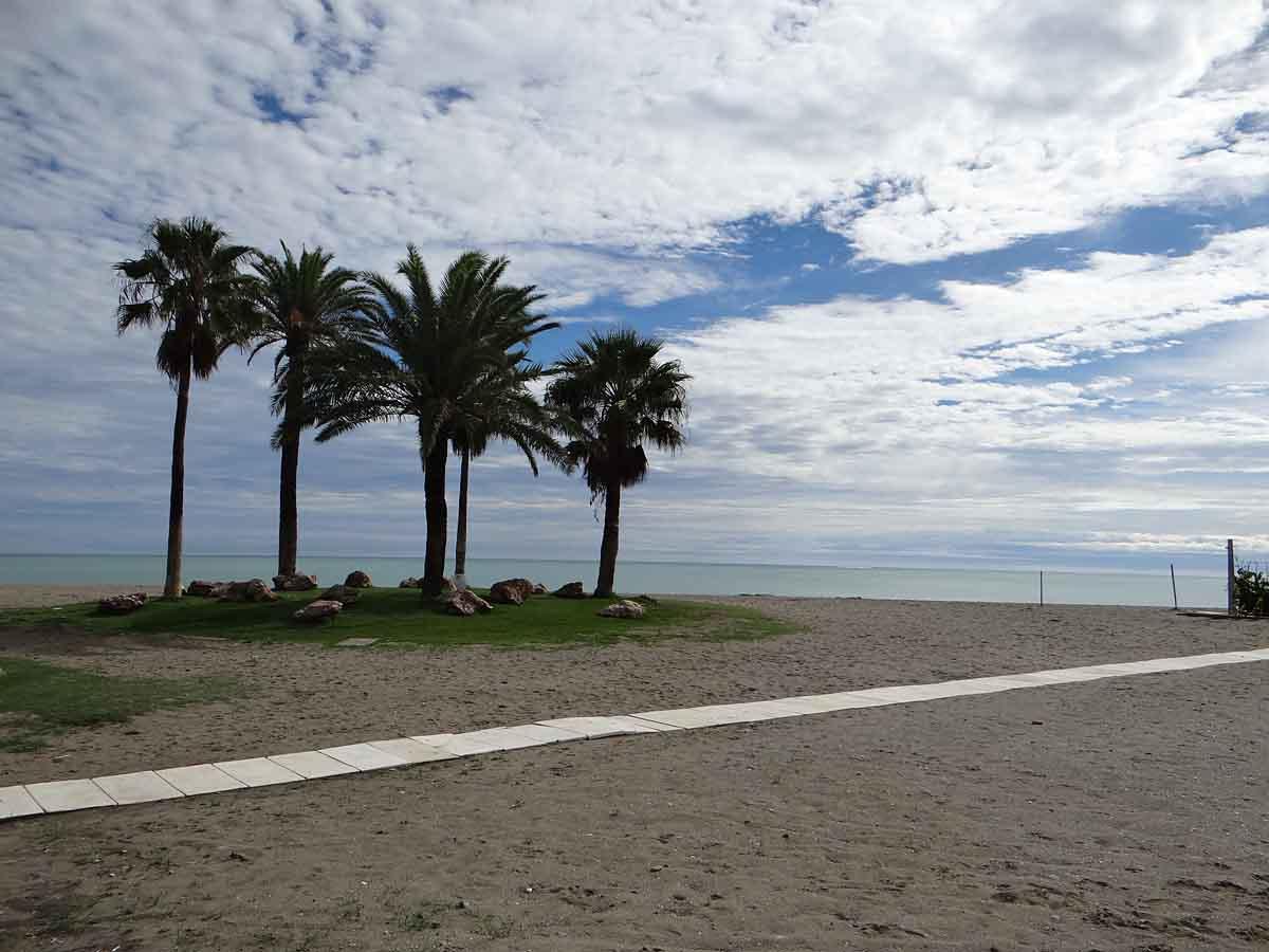 Los Alamos beach in Torremolinos