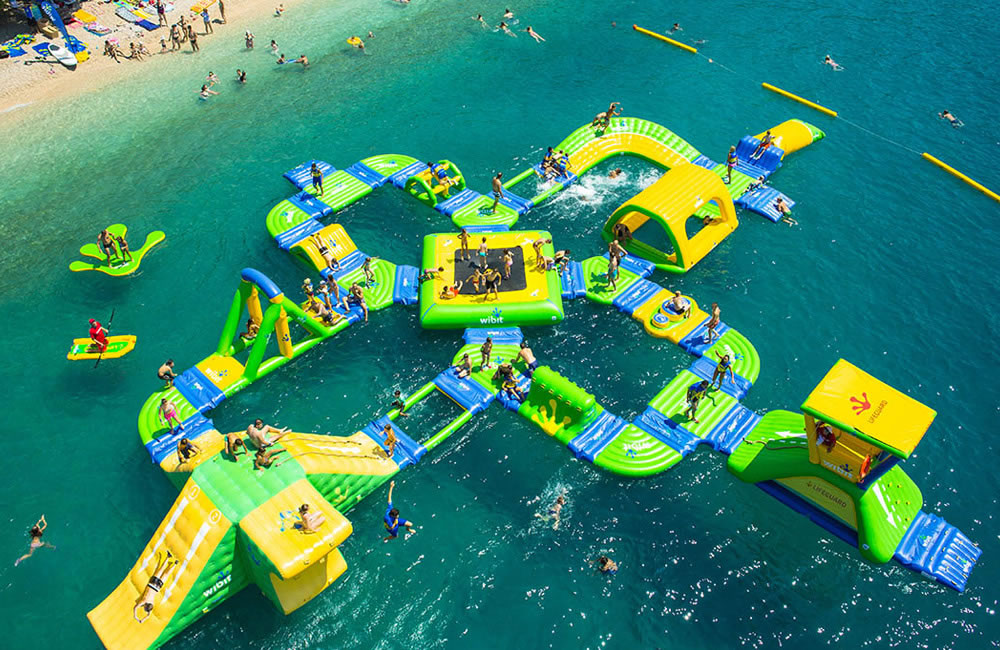 Costa Water Park at different beaches of the Costa del Sol