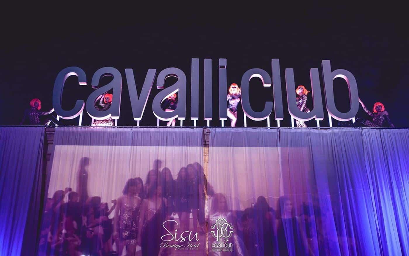 Cavalli Club in Puerto Banus