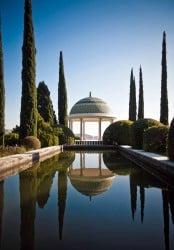 Botanical gardens La Concepcion in Málaga