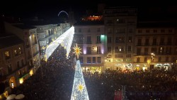 Málaga Christmas lighting Inauguration 2015