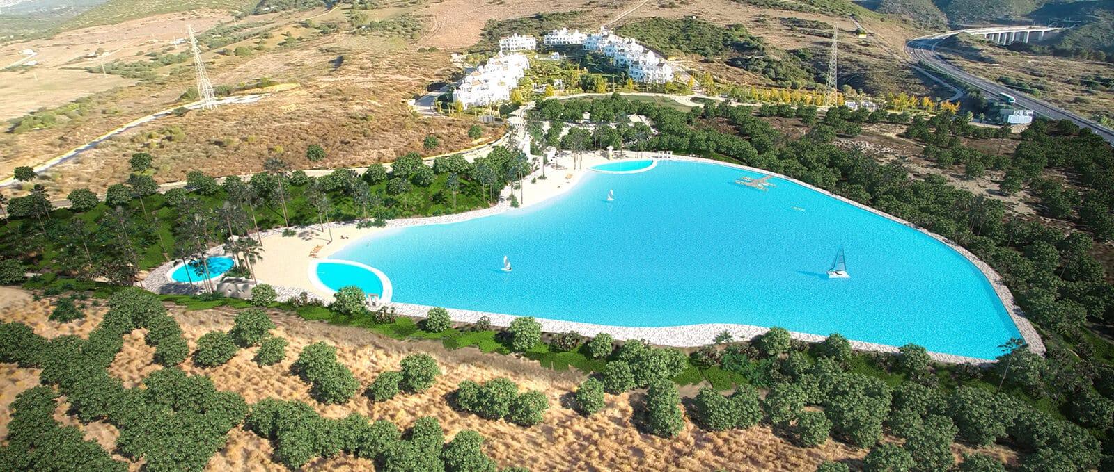 La Alcazaba Hills Lagoons resort by Crystal Lagoons